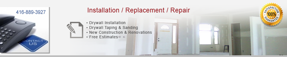 contact,drywall,pro,finishing,toronto,tapping,mudding,sanding